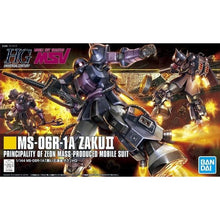 Load image into Gallery viewer, Bandai 1/144 HGUC MS-06R-1A Zaku II 5057748