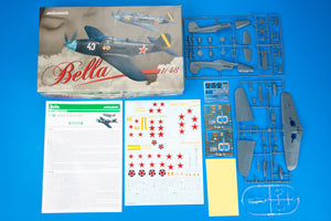 "Eduard 1/48 US P-39 ""Bella"" Airacobra in Red Army Service Dual Combo 11118"