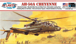 Atlantis 1/72 US AH-56A Cheyenne Attack Helicopter A506