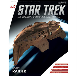 Eaglemoss Star Trek Kazon Raider IS106