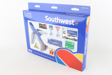 Daron Playset Southwest Airlines Airport Play Set (New Colors) RT8181-1