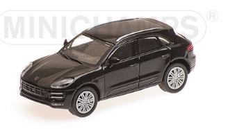 Minichamps 1/87 HO Porsche Macan Turbo 2013 Black 870067001