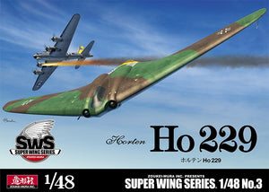 Zoukei-Mura 1/48 German Horton Ho-229 Flying Wing Fighter SWS-3