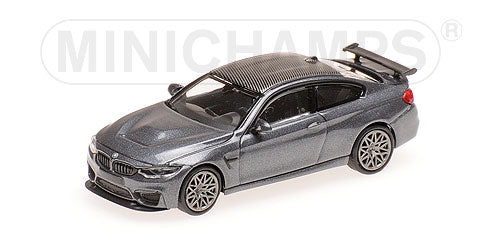 Minichamps 1/87 HO BMW M4 GTS Grey / Grey Wheels 870027104