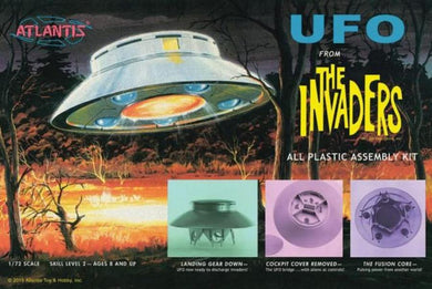 Atlantis 1/72 UFO From The Invaders 1006