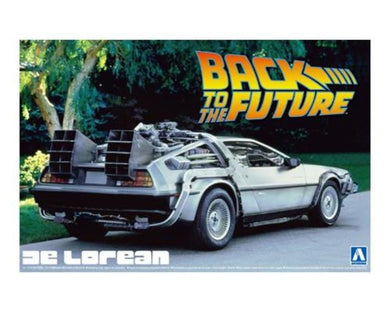 Aoshima 1/24 Back to the Future Part I Delorean 01185