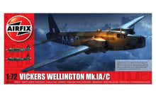 Load image into Gallery viewer, Airfix 1/72 British Vickers Wellington Mk.1A/C A08019