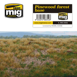Ammo by Mig AMIG8352 Pinewood Forest Diorama Base