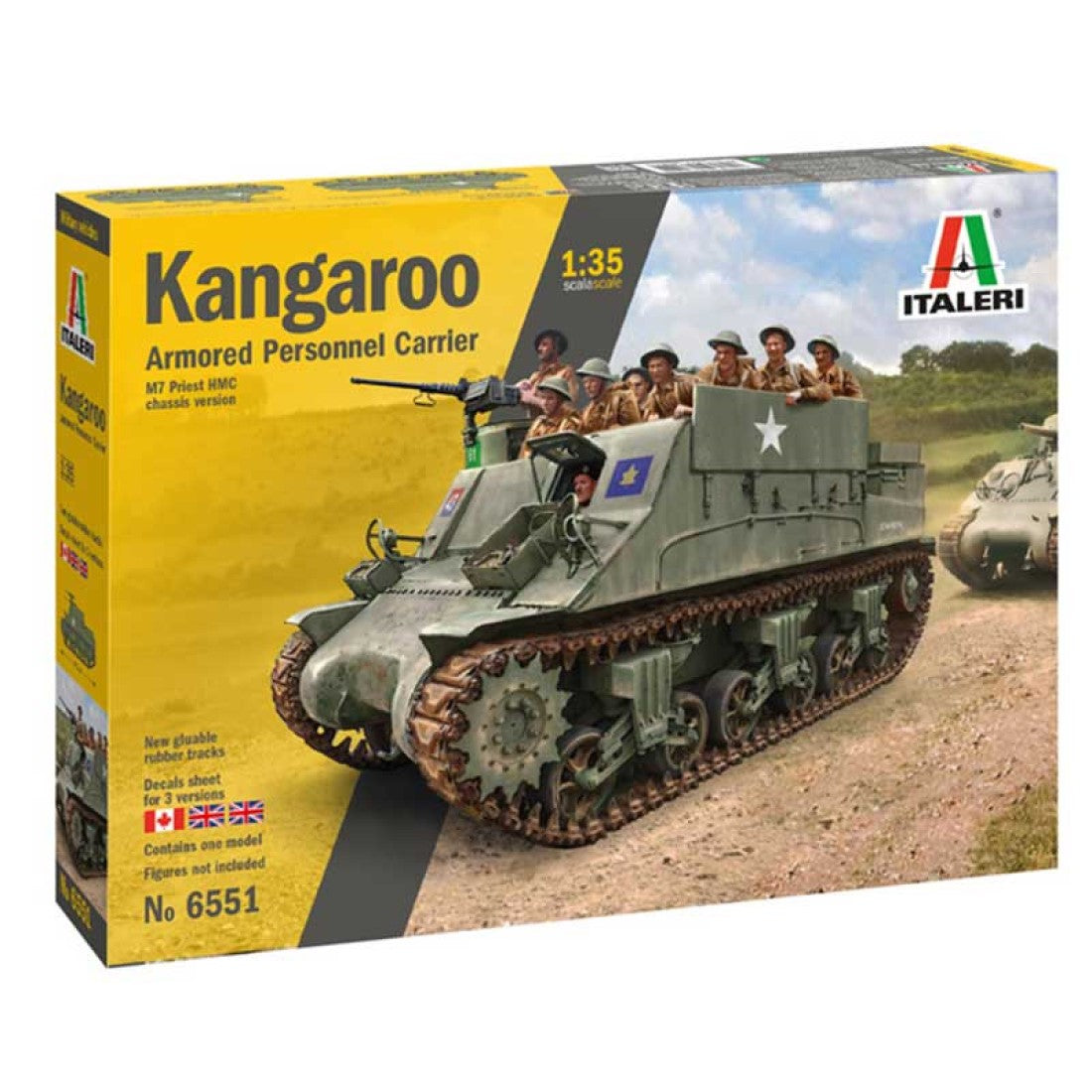 Italeri 1/35 Canadian Kangaroo Armored Personnel Carrier 6551