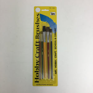 Duro 1950 Hobby Craft Paint Brushes 1950 (5)