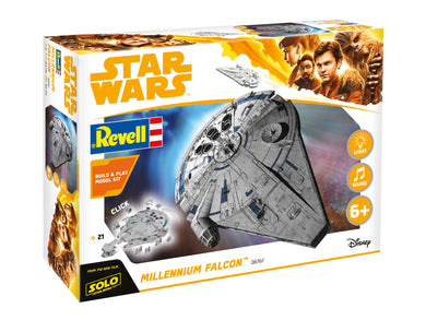 Revell 1/164 Build & Play Millennium Falcon 851678