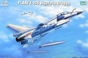 Trumpeter 1/48 Chinese PLAAFJ-10S Vigorous Dragon 02842