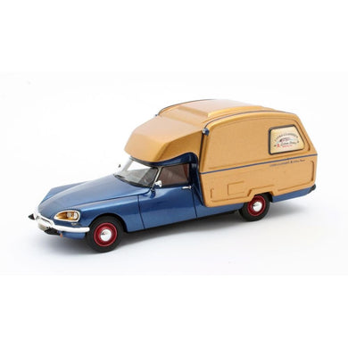 Matrix 1/43 Citroen ID Camper 1973 Blue / Gold 50304-061