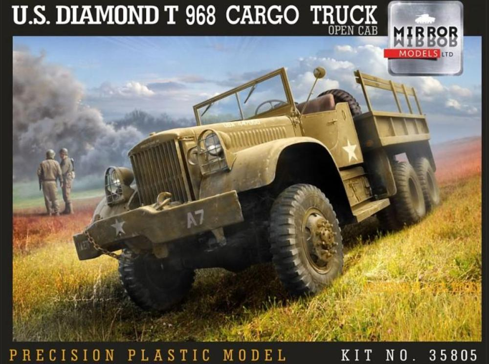 Mirror Models 1/35 U.S. Diamond T 968A Cargo Truck Late Open Cab 35805