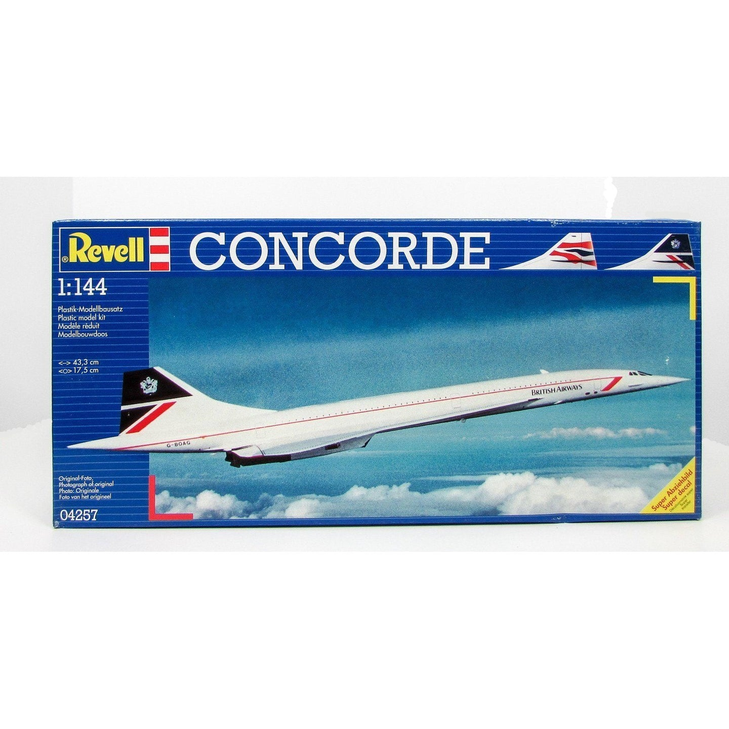 Revell 1/144 Concorde Supersonic Airliner 04257