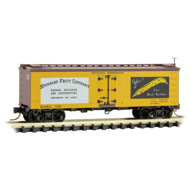 Micro-Trains MTL N Standard Fruit Co 36' Wood Reefer 05800566