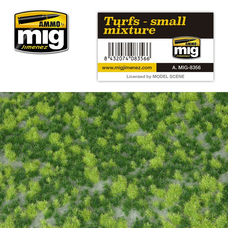 Ammo by Mig AMIG8356 Turfs - Small Mixture Diorama Base
