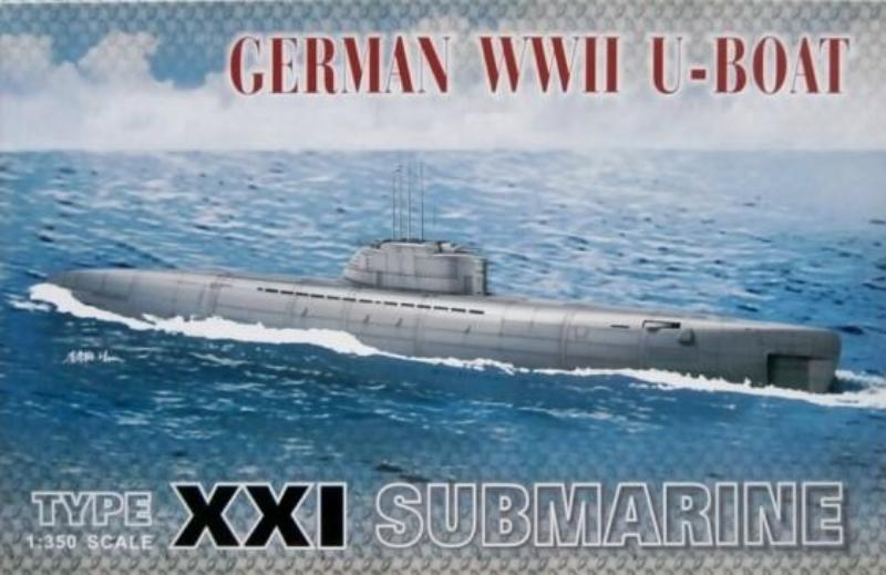 AFV Club 1/350 German Type XXI WWII U-Boat 73501