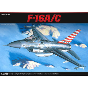Academy 1/48 USAF F-16A/C Fighting Falcon 12259