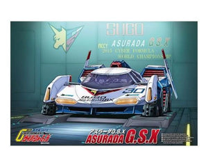 Aoshima 1/24 Asurada GSX Clear Body Plastic Kit 05647