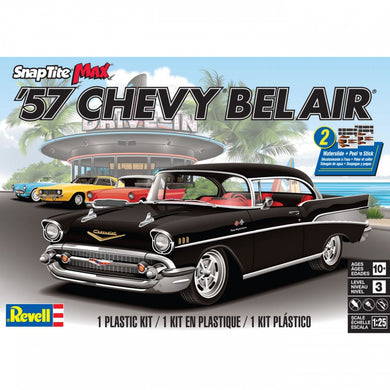 Revell Snaptite Max 1/25 Chevrolet Bel Air Hardtop 1957 851529