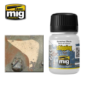 Ammo by Mig AMIG2010 Chipping Fluid, Scratches Effects
