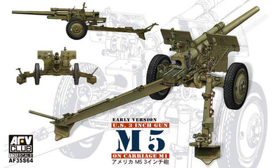 AFV Club 1/35 US M5 3 Inch Gun on M1 Carriage 35S64