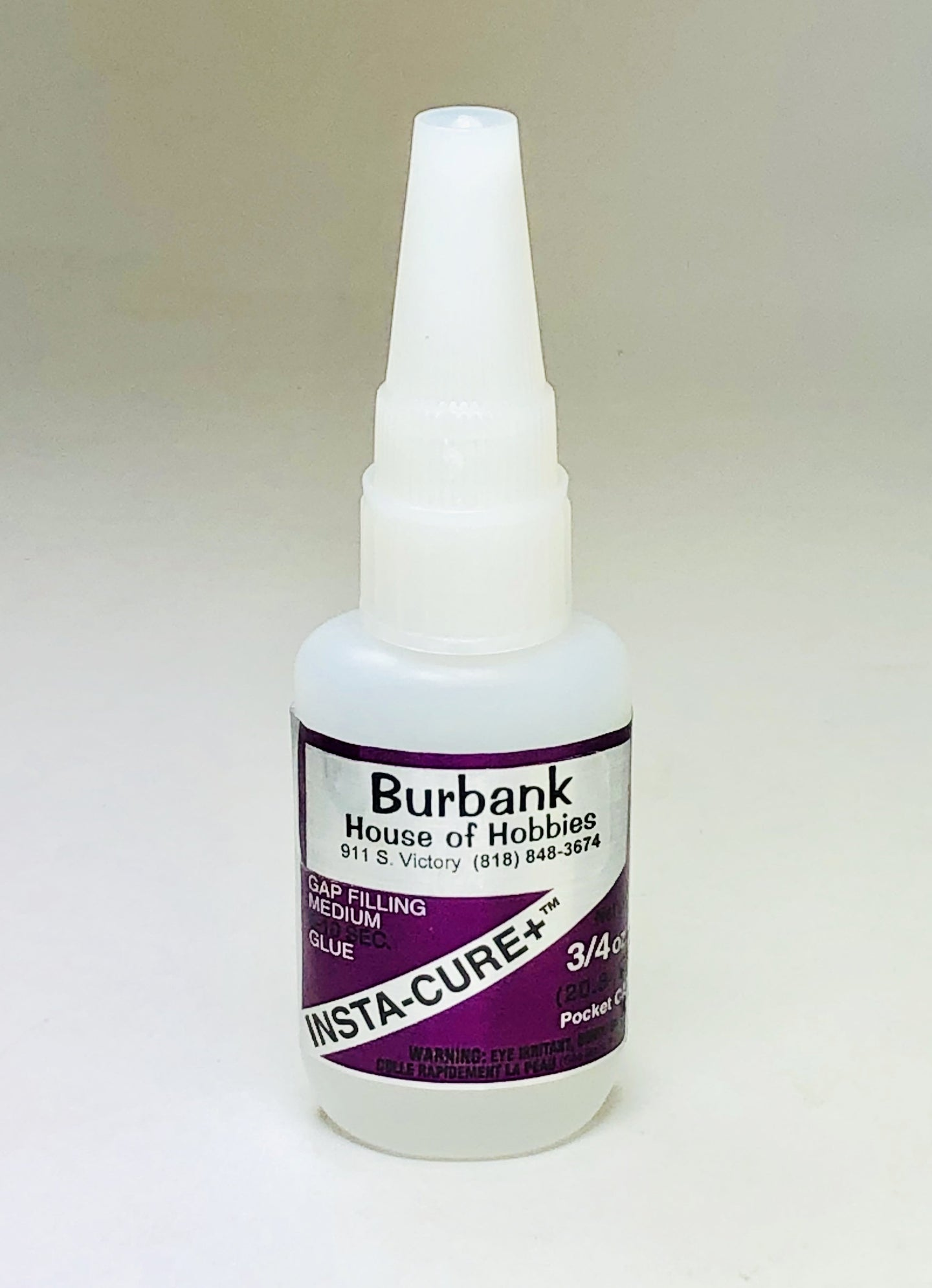 BSI 133 Insta-Cure+™ Glue 3/4oz BSI133