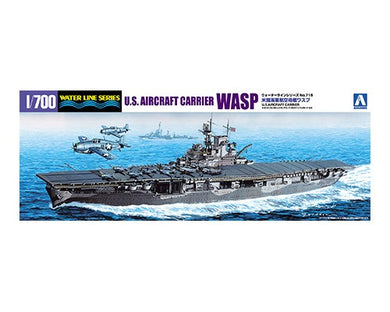 Aoshima 1/700 US Navy Aircraft Carrier Wasp 01034