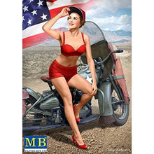 Load image into Gallery viewer, Master Box 1/24 Pin Up N.1 Marylin MB24001