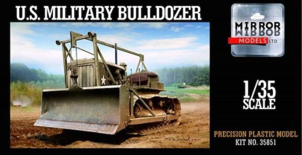 Mirror Models 1/35 U.S. Military Buldozer 35851