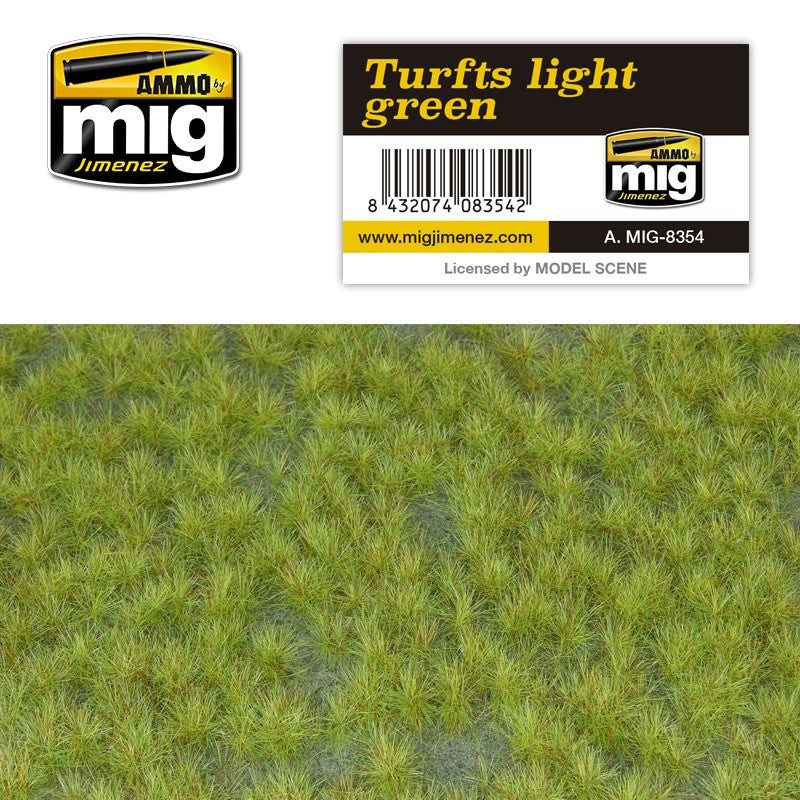 Ammo by Mig AMIG8354 Turfs Light Green