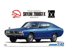 Load image into Gallery viewer, Aoshima 1/24 Nissan Kenmeri Ken & Mary Skyline 2000 GTX KGC110 05350