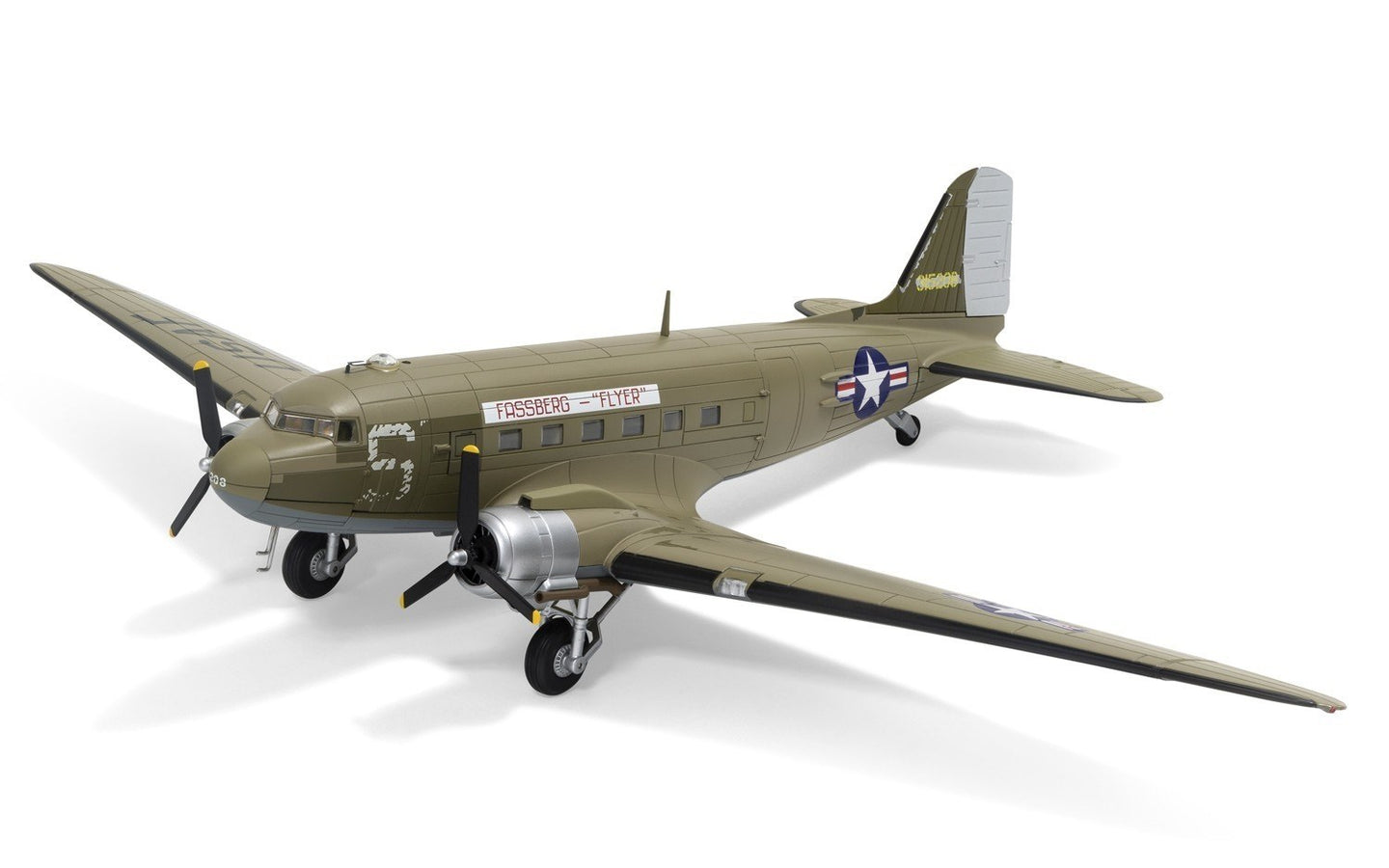 Corgi 1/72 US Douglas C-47A Sky train US Air Force Berlin Airlift AA38209