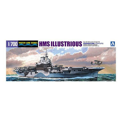Aoshima 1/700 British Aircraft Carrier HMS Illustrious 05104
