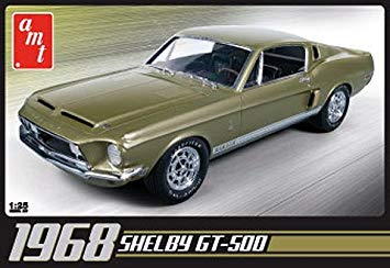 AMT 1/25 Shelby GT500 1968 Plastic Model Kit AMT634
