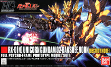 Load image into Gallery viewer, Bandai 1/144 HG #175 Banshee Norn Destroy Mode 189503