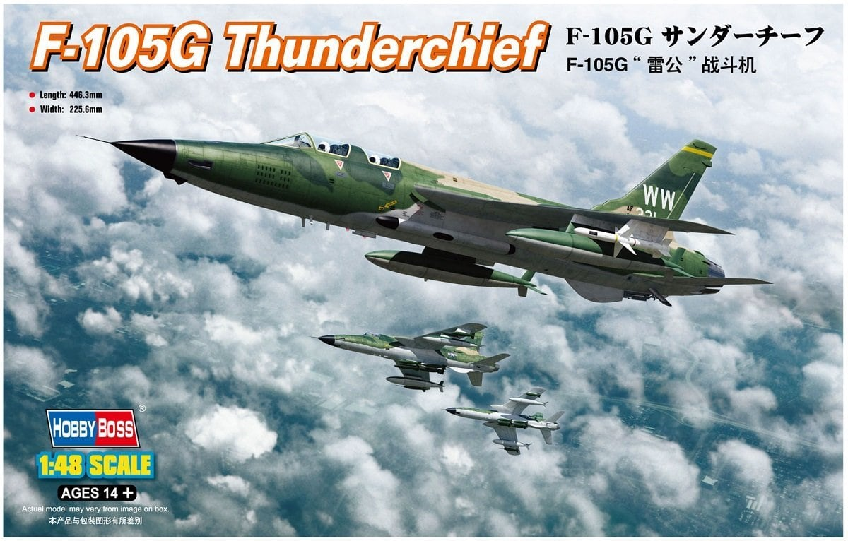 Hobby Boss 1/48 US F-105G Thunderchief 80333
