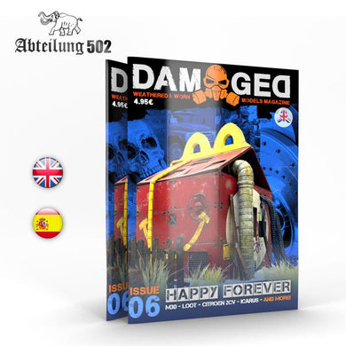 Damaged Magazine Issue 06