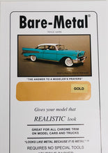 "Load image into Gallery viewer, Bare Metal Foil BMF008 Gold 11"" x 6"""