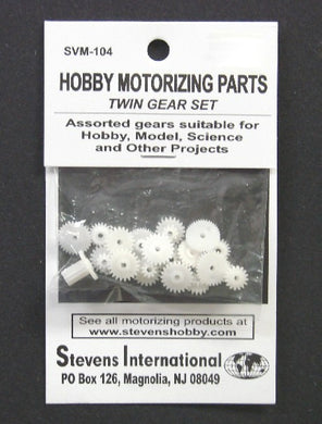 Stevens SVM-104 Twin Gear Set
