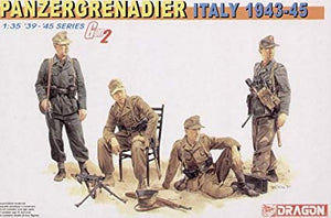 Dragon 1/35 German Panzergrenadier Italy 1943-45 6348