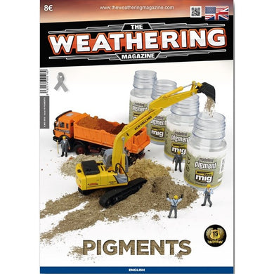 Ammo by Mig Book AMIG4518 The Weathering Magazine Pigments