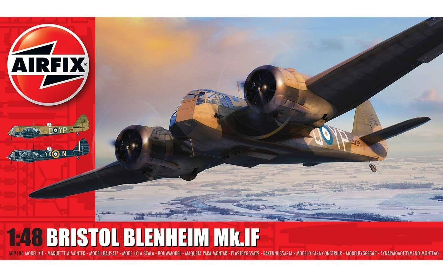 Airfix 1/48 British Bristol Blenheim MK.IF A09186