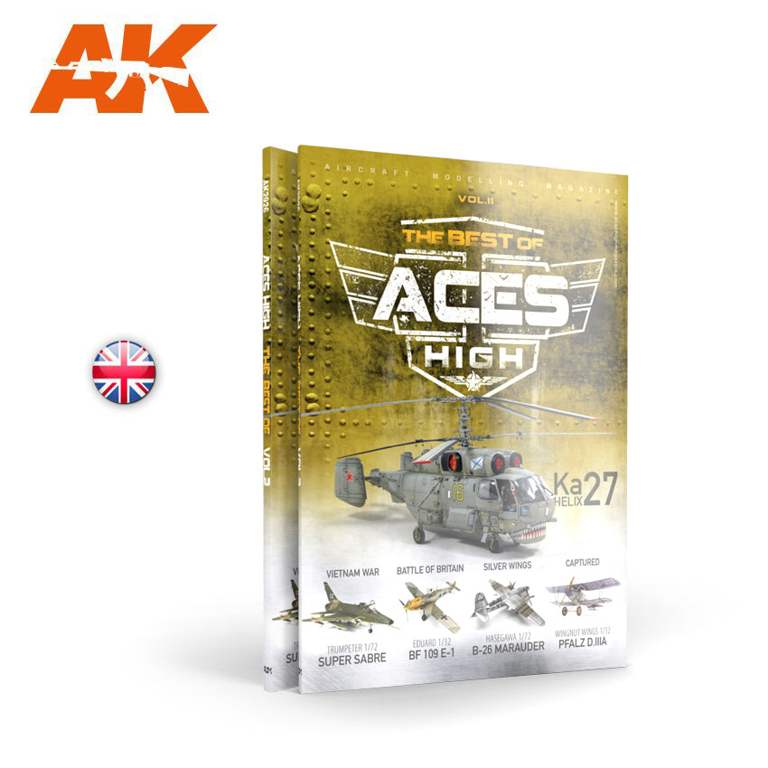 AK Interactive Book AK2926 Aces High The Best Of Aces High Vol. 2