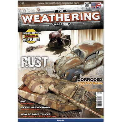 Ammo by Mig Book AMIG4500 The Weathering Magazine Rust