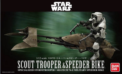 Bandai Star Wars 1/12 Scout Trooper & Speeder Bike 196693