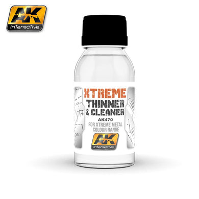 AK Interactive AK470 Xtreme Thinner & Cleaner 100ml