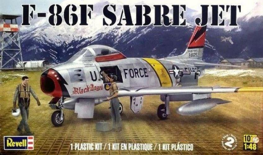 Revell 1/48 F-86F Sabre Jet 855319