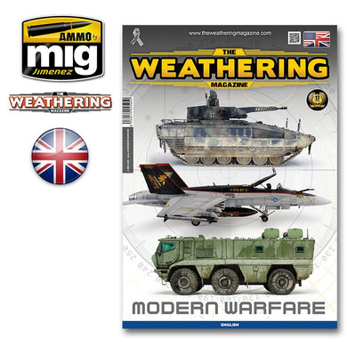 Ammo by Mig Book AMIG4525 The Weathering Magazine Modern Warfare
